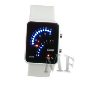 CALTECH montre led bracelet blanc