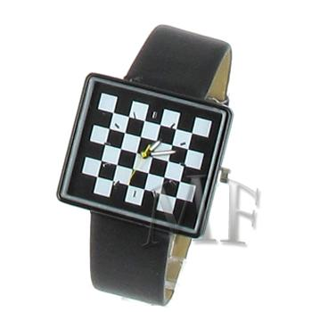CHESS montre fantaisie cuir