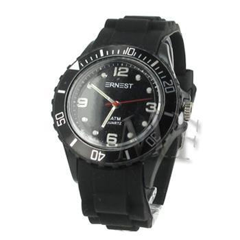 ITHAQUE montre silicone étanche noir