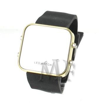 KLEE Montre silicone Led Black