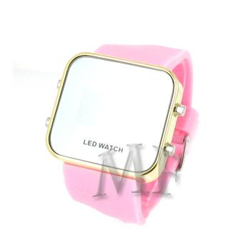 KLEE Montre silicone Led Rose