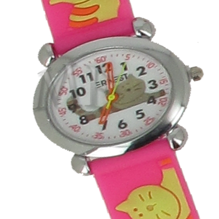 Montre enfant Chaton rose