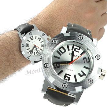 APOLLO montre homme bracelet cuir