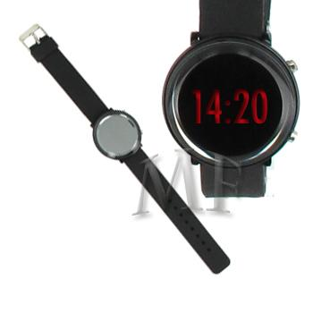 RHINA montre led silicone black