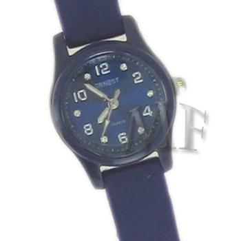 Scarlett montre bracelet silicone bleue