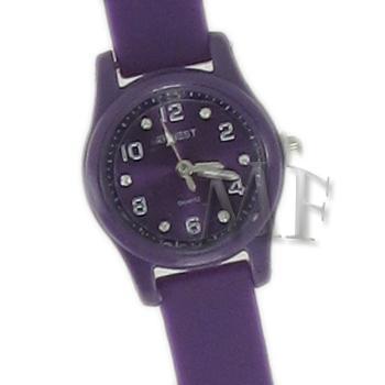 Scarlett montre bracelet silicone fushia