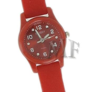 Scarlett montre bracelet silicone rouge