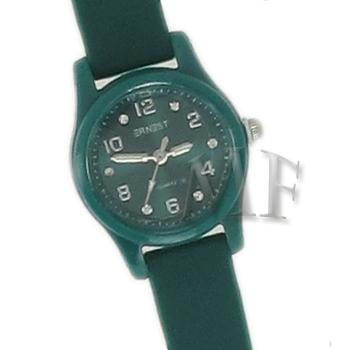 Scarlett montre bracelet silicone verte