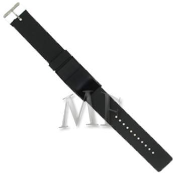 SLIM montre bracelet Silicone AllBlack