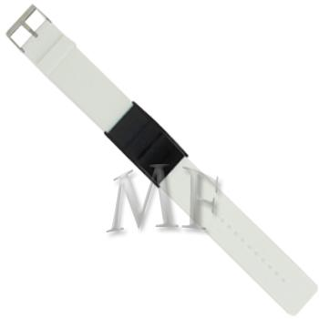 SLIM montre bracelet Silicone blanche
