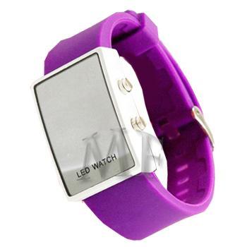 SLIM montre bracelet Silicone violet