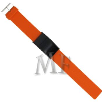 SLIM montre bracelet Silicone Orange