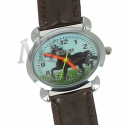 Montre cuir Bronze cheval