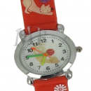 Montre enfant motif Chat rouge