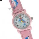 montre fantaisie dauphin rose