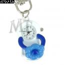 Montre porte clé Tong bleu