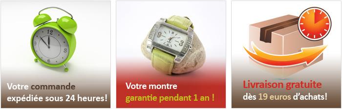 Boucle bracelet montre silicone